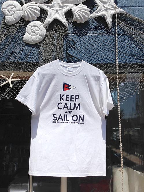 """""""Keep Calm & Sail On"""" T-Shirt"""