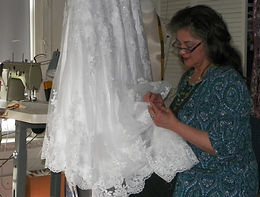 Perfect Fit Alterations for wedding gowns, pageant, & prom