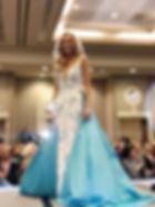 Amber Allen Blue dress on stage fb.jpg