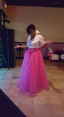 Kisacha Rice custom dress