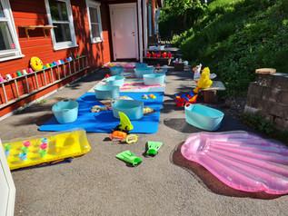 Strandtur (i barnehagen)