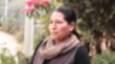 María Angelita Rocano Piña es tejedora de chales de macana en Ikat y socia de MAKI FairTrade. Vive en Bullcay, Gualaceo, Ecuador.