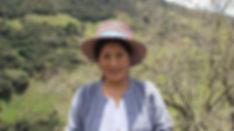 Carmen Amelia Peláez Salinas es tejedora de Sombreros de Paja Toquilla (Panama Hats) y socia de MAKI FairTrade. Vive en Principal, Chordeleg, Azuay, Ecuador.