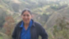 Digna Amparito Zapatanga Quichimbo es tejedora de Sombreros de Paja Toquilla (Panama Hats) y socia de MAKI FairTrade. Vive en Bacpancel, Gualaceo, Azuay, Ecuador.