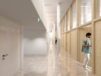 Charcot Aménagement de salle de simulations d'attentats Hôpital de la pitié Salpétrière, Paris