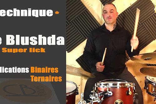 Le Blushda (5 pages d'explications et les exercices en PDF).