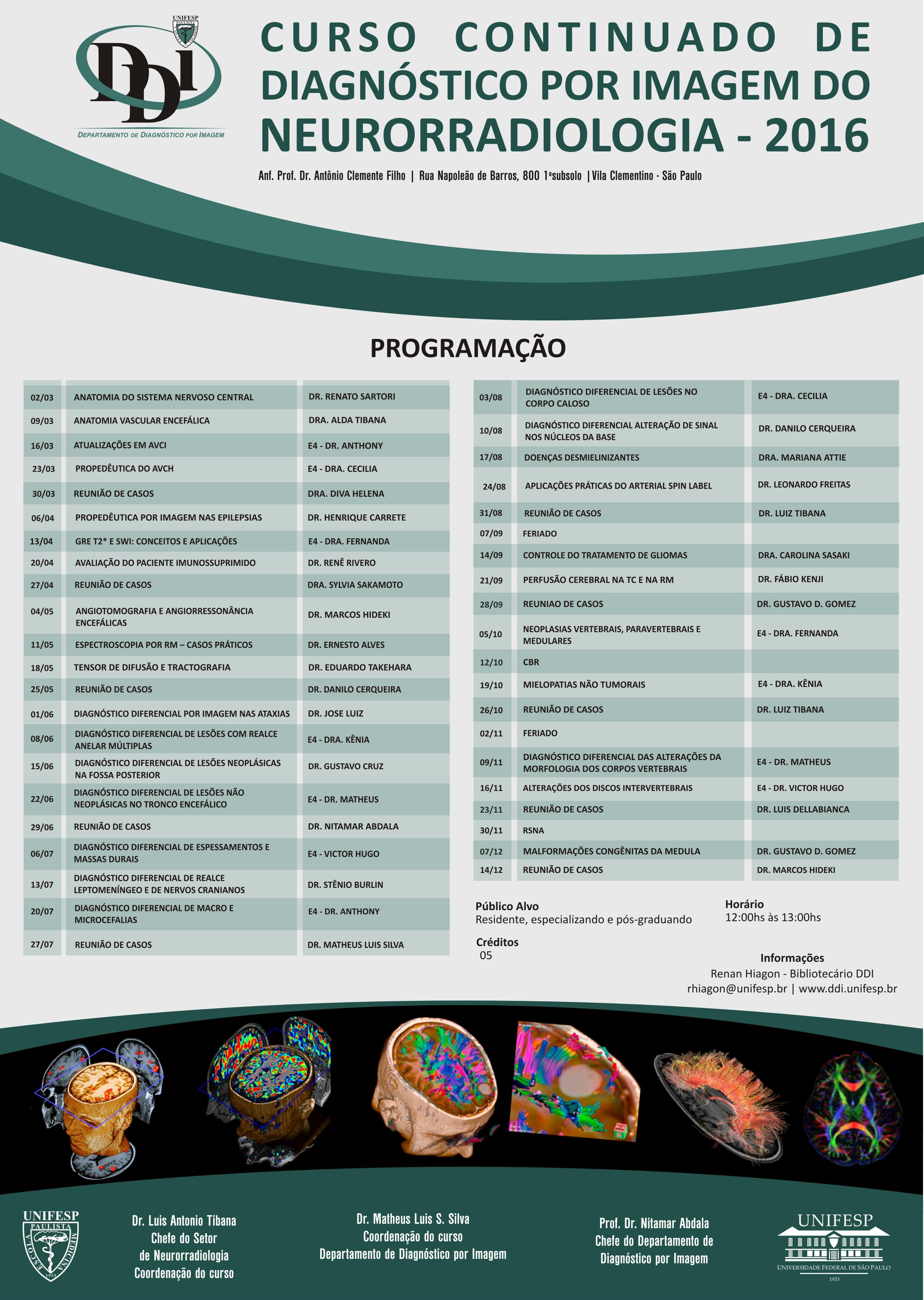 cartaz neurorradiologia 2016