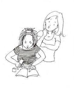 une mère qui admire sa fille se lancer dans son projet