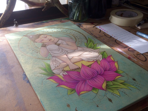 New Piece Nearly Finished...
