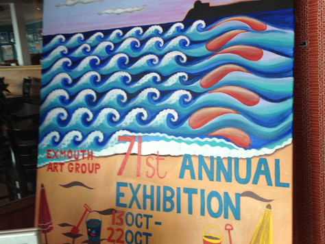 Exmouth Art Groups 71st Anual Exhibition a Huge Success