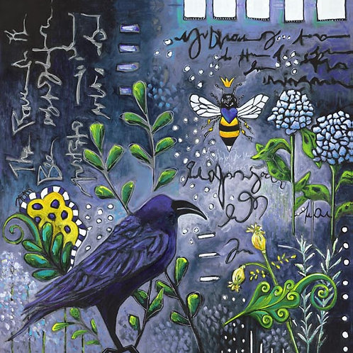 """""""The Raven & The Bee"""""""