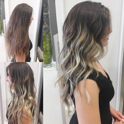 Haircontouring, ombré hair