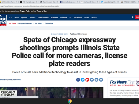 Spate of Chicago expressway shootings prompts Illinois State Police call for more cameras, license p