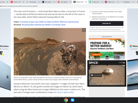 The UFO lie: why are photos from Mars crystal clear, but UFO images from NAVY grainy and vague?