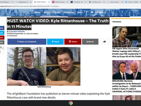 MUST WATCH VIDEO: Kyle Rittenhouse — The Truth in 11 Minutes