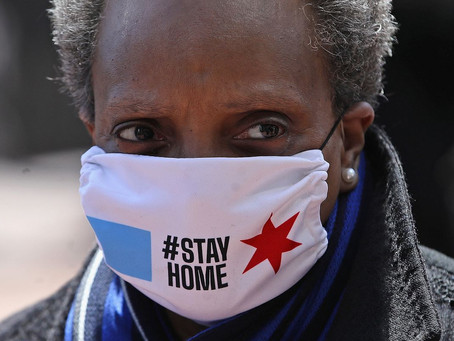 COVID19 Lockdown order temporarily lifted in Chicago as MAYOR LIGHTFOOT organizes protest rally.?!