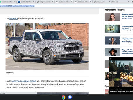 Fox News retard nation reporting - Here's the 2022 Ford Maverick compact pickup before you're suppos