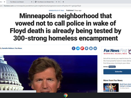 Minneapolis neighborhood that vowed not to call police has already turned into a shithole