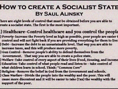 Saul Alinsky's Rules for Radicals