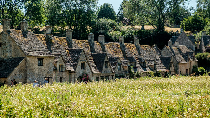 group of cottages in Cotswolds