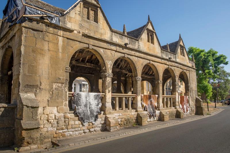 Medieval old market building
