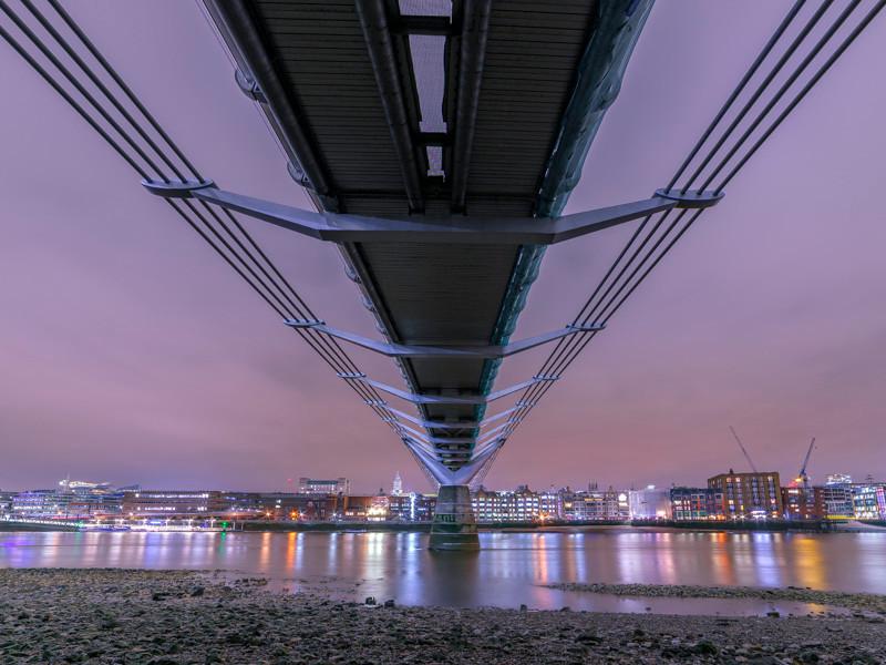 Samyang 14mm test with Millenium Bridge