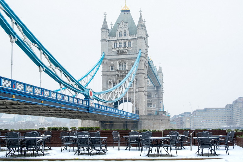 Tower bridge in winter taken at my photography tour