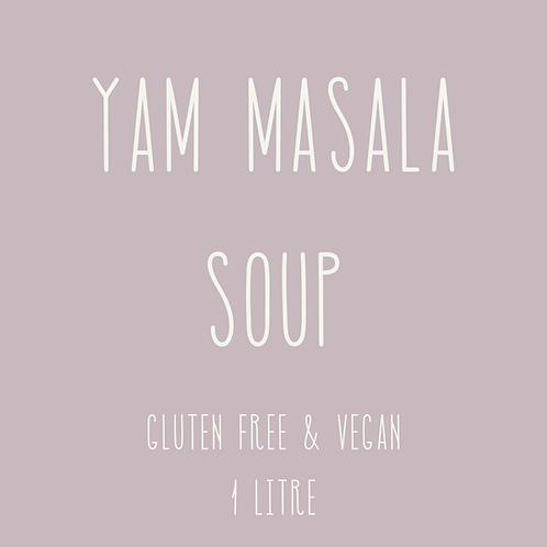 Yam Masala Soup