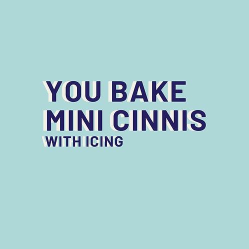 Mini Cinnis w/ Icing