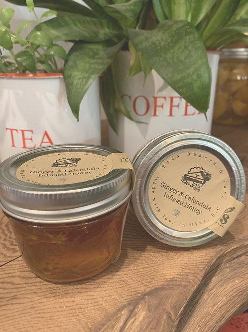 Ginger & Calendula Infused Honey