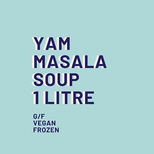 Yam Masala Soup 1 Litre Frozen