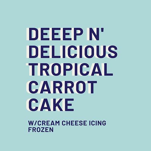 Deeep N' Delicious Carrot Cake