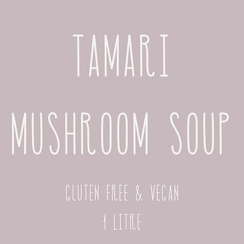Tamari Mushroom Soup