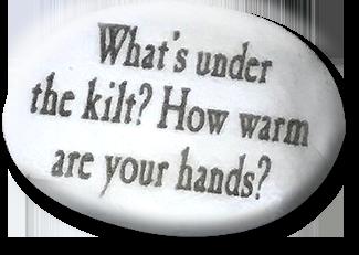 What's under the kilt?