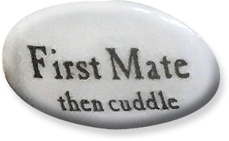 First Mate - then cuddle