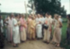 Srila Prabhupada at New Talavan