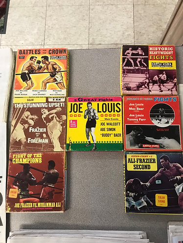 8mm FIGHT FILMS-COLLECTIBLES