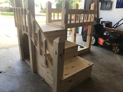 INDOOR DOGHOUSE AND BUNK BED