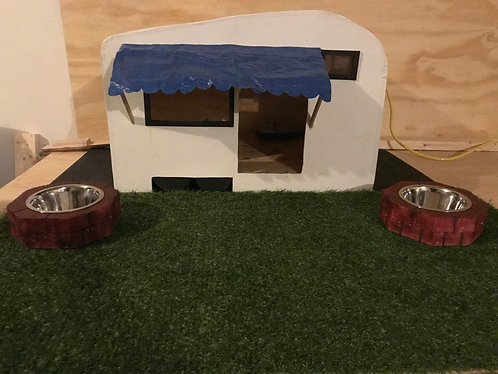 Canine campsite