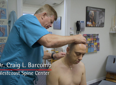 Back and Neck Pain Treatment in Sarasota, Florida by Gonstead Chiropractor, Dr. Craig Barcomb.