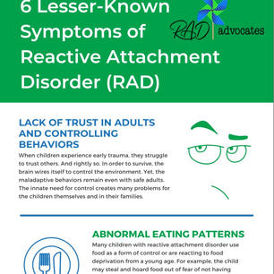6 Lesser-Known Symptoms of Reactive Attachment Disorder