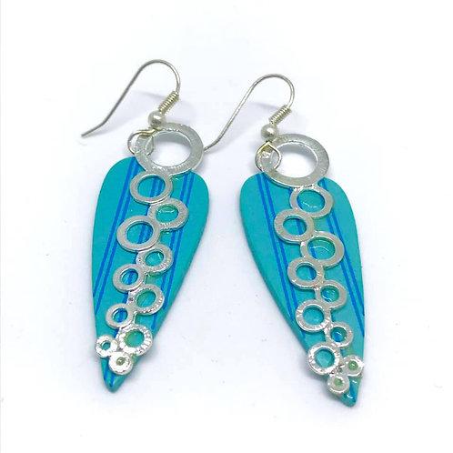 Marsha Luti - Wooden bubble Drop Earrings