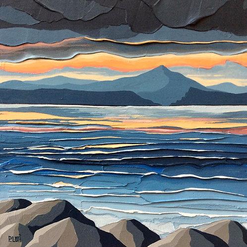 Peter Luti - Early Evening Orange