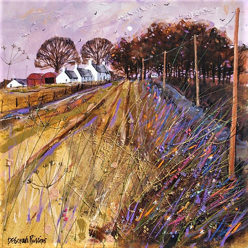 Deborah Phillips - Autumn at Dalquhandy Farm