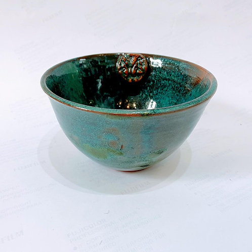 Cindy McLoughlin - Turquoise Cereal Bowl