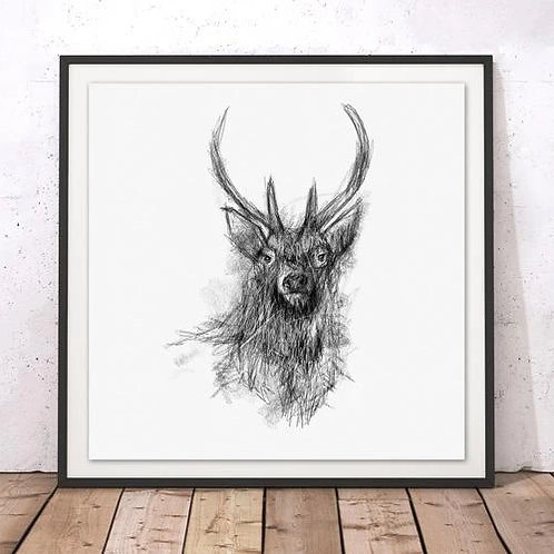Marsha Luti - Pride of the Highlands Print