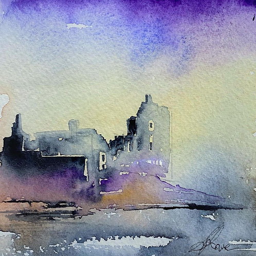 Sue Lowe - Keep of Kilchurn