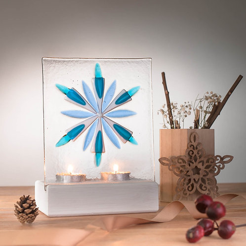 Ann Maitland - Snowflake Tile With Stand