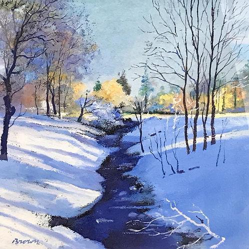 Davy Brown - Winter Burn