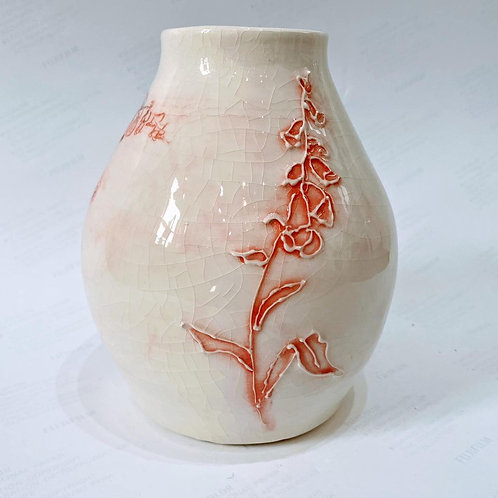 Cindy McLoughlin - Tall Foxglove Vase